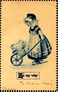 Dutch Kid Series II.  Artist: Gereiner.  *RPO- Ottawa & Ft William RR?