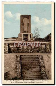 Pompelle - Monument erected to the memory of the Heroes of the Great War - Ol...