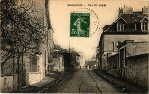 CPA DAMPART - Rue de LAGNY (292583)