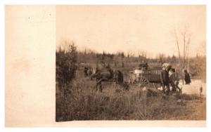 Farmers Loading Wagon  , RPC
