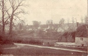 MERCIA SERIES VIEW OF VILLAGE COMBROKE, ENGLAND