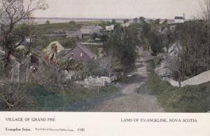 Village of Grand Pre - Land of Evangeline - Nova Scotia, Canada - DB