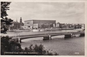 RP; STOCKHOLM, Sweden; Kungl; Slottet fran Skeppsholmen, 10-20s