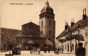 CPA PONTARLIER - L'Église (299915)
