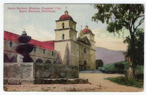 Santa Barbara, California, Santa Barbara Mission, Founded 1786