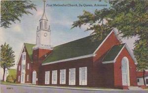 Arkansas De Queen First Methodist Chruch