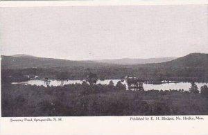 New Hampshire Spragueville Swanzey Pond