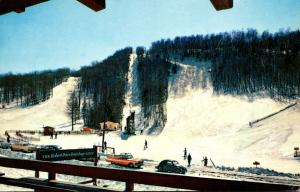 New Hampshire Lyme The Dartmouth Skiway From Brundage Lodge 1959