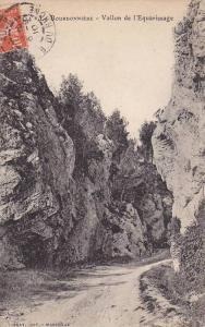 Vallon De l'Equarissage, Bourdonniere, France, PU-1910