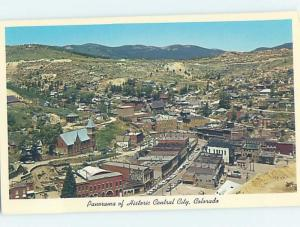 Pre-1980 PANORAMIC VIEW Central City - Near Golden & Denver Colorado CO F8863