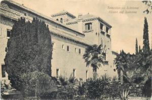 Croatia Dubrovnik RAGUSA LACROMA Lokrum monastery rare vintage postcard 1910s