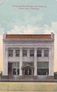 SANTA ANA , California , 00-10s ; Orange County Savings and Trust Co.