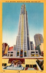 New York City Rockefeller Center R C A Building 1951