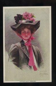 su3757 - Glamour - Little Lady Demure - Artist Philip Boileau c1907 - postcard