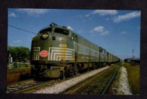 OH New York Central Train Railroad SANDUSKY OHIO RR PC