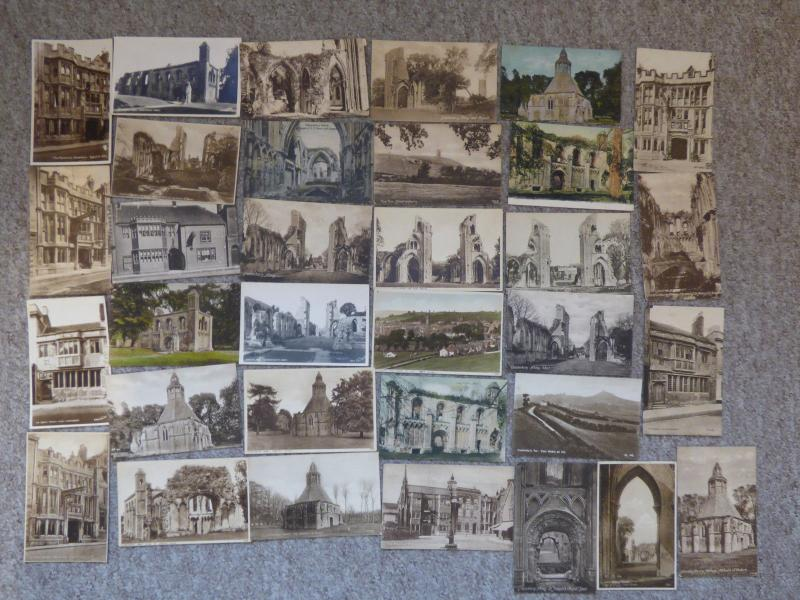 bu0101 - Glastonbury , Somerset - 33 postcards - All Showing