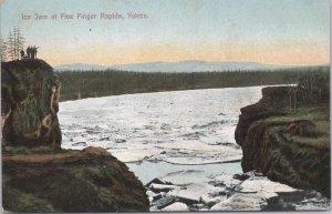Ice Jan at Five Finger Rapids, Yukon - Alaska - 1909