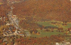 Hot Springs Virginia The Homestead Birdseye View Vintage Postcard K107891