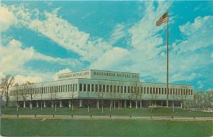 Southfield Michigan~Maccabees Mutual Life Insurance Company~1950s Postcard