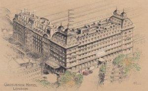 LONDON , England , 1937 ; Grosvenor Hotel