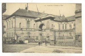 NANTES, L'Hotel de Ville, Loire-Atlantique, France, 00-10s