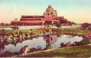 HOTEL COUNTRY CLUB from the CORAL GARDEN ESTATES. MIAMI, FL Hand-Colored