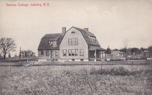 INDUSTRY , New York , 1900-10s; Ganona Cottage