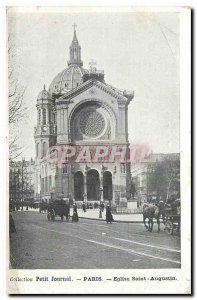 Old Postcard Collection Diary Paris Church of Saint Augustine