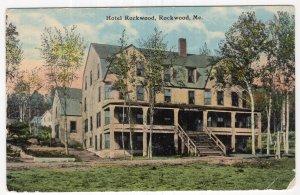 Rockwood, Me, Hotel Rockwood