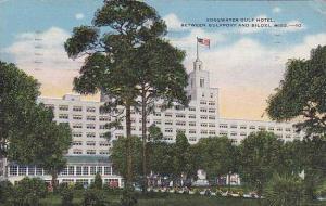 Edgewater Gulf Hotel, Between Gulfport and Biloxi, Mississippi, PU-1948