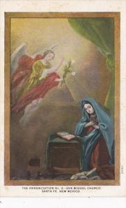 New Mexico Santa Fe The Annunciation No 2 San Miguel Church