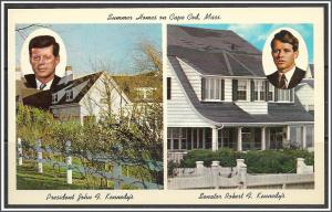 Massachusetts, Cape Cod Kennedy Summer Homes - [MA-616]