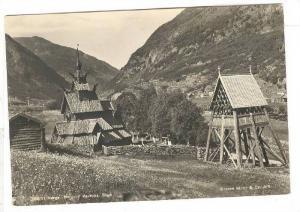 RP; Norge. Borgund stavkurke , Sogn , 30-50s Norway