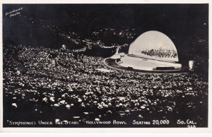 """California Hollywood The Hollywood Bowl Symphonies Under The Stars""""..."""
