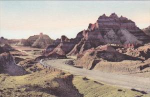 The Foot Of Cedar Pass Vampire Peak The Badlands Nat Monument South Dakota Ha...