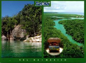 Mexico Xel Ha River Scene