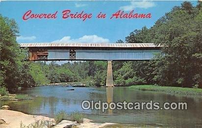 Covered Bridge, Locust Fork Cleveland, Ala, USA Unused