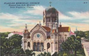 Florida St Augustine Flagler Memorial Church