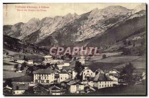 Old Postcard Tram Annecy has Thones Route des Aravis La Clusaz