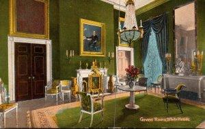 Washington D C The White House Green Room