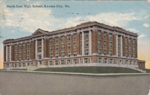KANSAS CITY, Missouri, PU-1915; North East High School