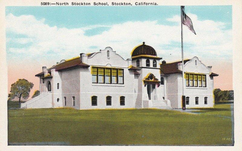 STOCKTON , California, 1910-30s ; North Stockton School
