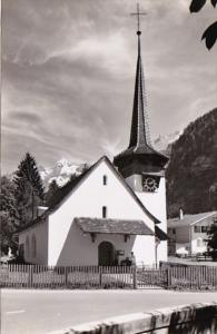 Switzerland Kirche Kandersteg Bluemlisalp Photo