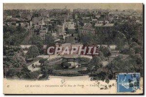 Old Postcard Le Havre Perspective of Paris Street