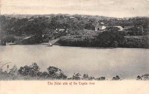 South Africa The Natal side of the Tugela River Panorama 1908