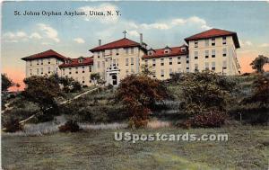 St. Johns Orphan Asylum Utica NY 1915