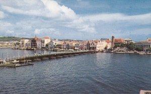 CURACAO, Netherlands Antillles, 1940-1960's; Pontoon Bridge