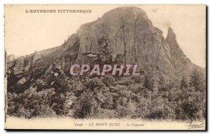 Le Mont Dore Old Postcard Capuchin