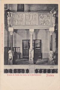 Pulpito Di Guido Da Como In S. Bartolommeo, PISTOIA (Tuscany), Italy, 1900-1910s