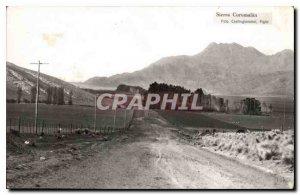 Old Postcard Sierra Curumalan